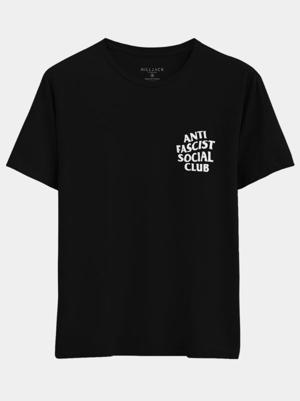 01 Anti Fascist Camiseta