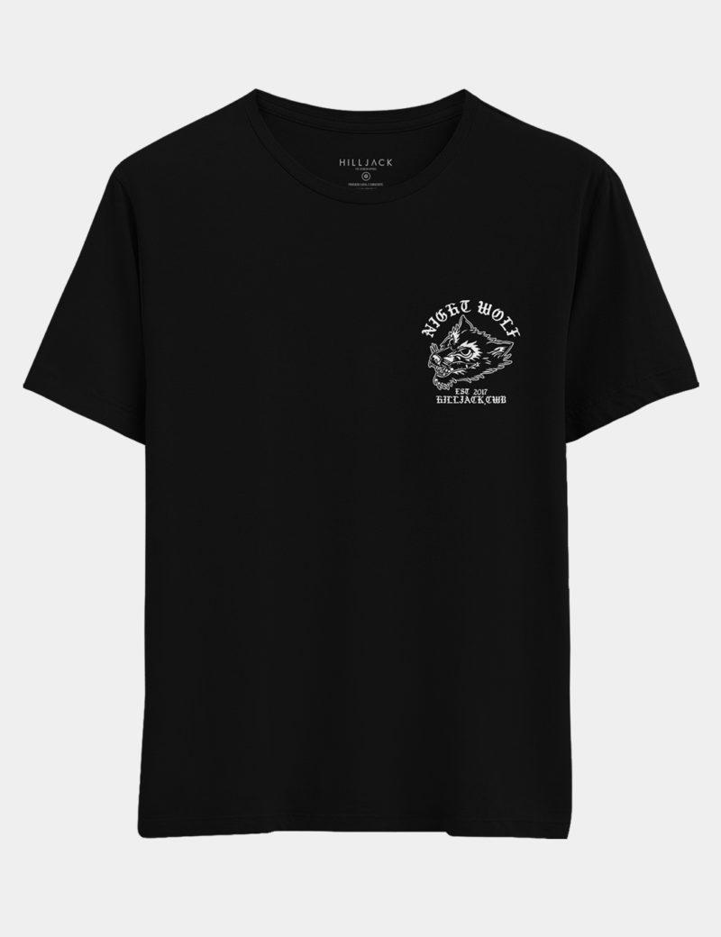 01 Camiseta Night Wolf new