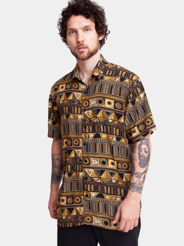 Camisa Azteca 3