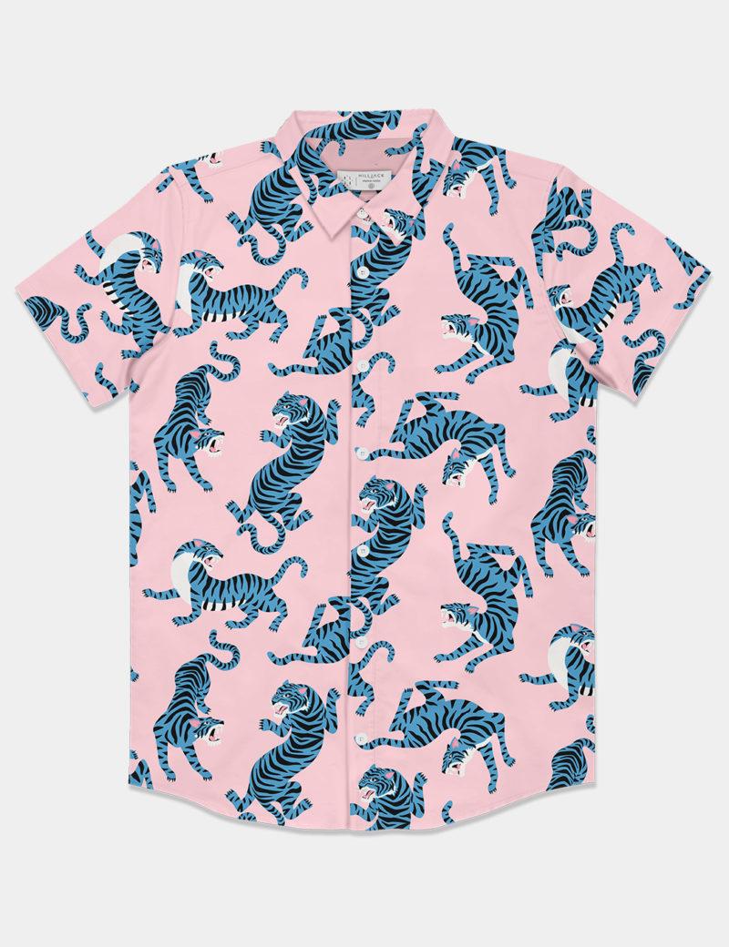 Camisa Pink Tiger