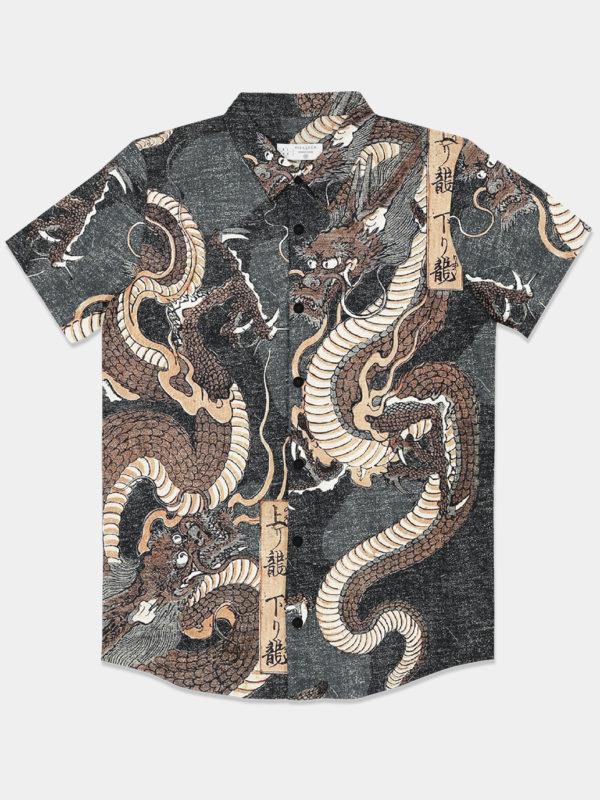 Camisa Twin Dragons